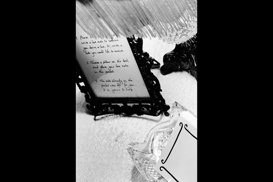 Project image - Love Note, 2010.